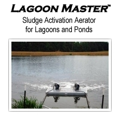 LAGOON MASTER Sludge Activating Aerator for Lagoons and Ponds